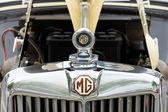 Radiator roadster MG TD Midget 1951 — Stock Photo