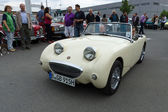 A small open sports car Austin-Healey Sprite Mark I — Stock Photo