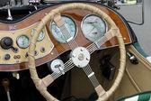 Enano taxi roadster 1951 mg td — Foto de Stock