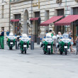 Stock Photo: Police near U.S. embassy on Unter den Linden
