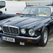 Luxury car Daimler Sovereign (XJ6 Series II), front view — Stock Photo