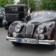 Stock Photo: Roadster Jaguar XK140