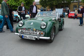 Sport car Triumph TR3 — Stock Photo