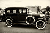 Vintage car Ford Model A (sepia) — Stock Photo