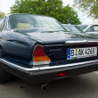 Luxury car Daimler Sovereign (XJ6 Series II), rear view — Stock Photo