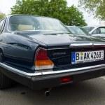 Постер, плакат: Luxury car Daimler Sovereign XJ6 Series II rear view