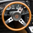 Stock Photo: Cab Roadster MG MGC