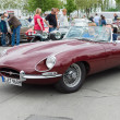Sport car Jaguar E-Type 3,8 — Stockfoto