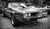 Car Pontiac Firebird (black and white) — Stock Photo