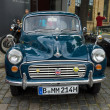 Постер, плакат: British economy car Morris Minor 1000