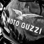 Постер, плакат: Fuel tank Italian motorcycle Moto Guzzi