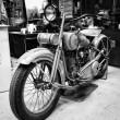 Постер, плакат: Motorcycle Harley Davidson JDL Racer circa 1930