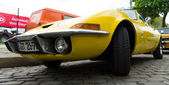 German two-seater sports coupe Opel GT — Stock Photo