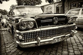 Full-size car Buick Century Riviera, Series 60, Model 63, 4-door Hardtop (sepia) — Stock Photo