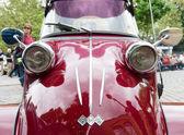 Detalle cabina scooter messerschmitt kr200 — Foto de Stock