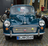 British economy car Morris Minor 1000 — Stock Photo
