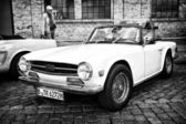 British six-cylinder sports car Triumph TR6 — Stock Photo