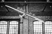 Model of German heavy passenger flying boat Dornier Do X — Stock Photo