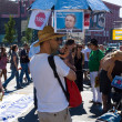 Постер, плакат: Under the motto Freedom not Fear held a demonstration in Berlin
