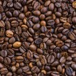 Background from coffee beans. — Stock Photo