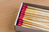 A box of matches. — Stock Photo