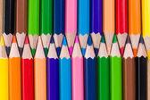 χρωματιστά μολύβια. φόντο. — Φωτογραφία Αρχείου