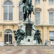 Equestrian statue of Frederick the Great. Charlottenburg Palace. — Stock Photo