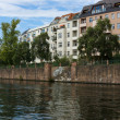 Spree embankment. Berlin — Stock Photo