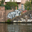 Spree embankment. Berlin — Stock Photo #31473561