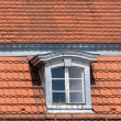 Stock Photo: Old roofs of Berlin.