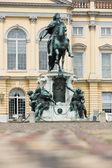 Reiterstandbild friedrichs des großen. schloss charlottenburg. — Stockfoto
