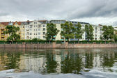 Spree embankment. Berlin. HDRi — Stock Photo
