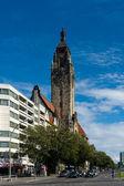 Charlottenburg Town Hall (Rathaus Charlottenburg) — Stok fotoğraf