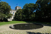 The Memorial to the Murdered Sinti and Roma in Nazi Europe — Stock Photo