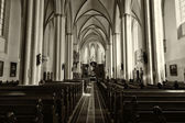 Interior of the Church of St. Mary on the Alexanderplatz — Stock Photo