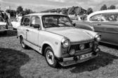 Car Trabant 601 (black and white) — Stock Photo
