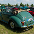 British car Morris Minor 1000 convertible, rear view — Foto de Stock