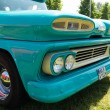 Stock Photo: Detail of full-size pickup truck Chevrolet Apache 10