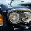 Stock Photo: Headlamp luxury car Rolls-Royce Silver Shadow