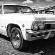 Car Chevrolet Impala (fourth generation), black and white — Stock Photo