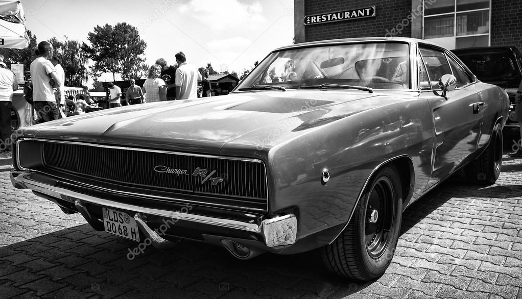 What Does Rt Stand For Dodge >> Mid-size car Dodge Charger RT, (black and white) – Stock Editorial Photo © S_Kohl #33188059