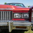 Stock Photo: Head lamp full-size personal luxury car Cadillac Eldorado (Eighth generation)