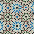 Oriental ornament. Arab mosaic — Stock Photo