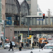 Berlin Friedrichstrasse railway station — Stock Photo #35112859