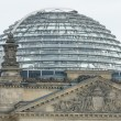 Stock Photo: Reichstag dome - designed by architect NormFoster and built to symbolize reunification of Germany