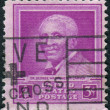 Postage stamp printed in USA, dedicated to 5th anniversary of death of Dr. George Washington Carver, scientist — Stock Photo #36953243