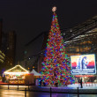 Stock Photo: Christmas tree on Potsdamer Platz