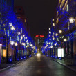 Stock Photo: Streets on Postadmer Platz in Christmas illuminations