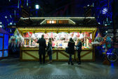 Christmas Market at Potsdamer Platz — Stock Photo