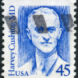 Stock Photo: Postage stamp printed in USA, shows Harvey Williams Cushing was Americneurosurgeon